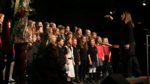 2014 Dezember Weihnachtskonzert Chorklassen Jgst. 5/6
