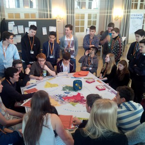 2015 März, Justus-SchülerInnen beim POL&IS-Planspiel