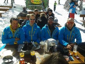 2015 März Skikurs in der Zugspitzarena - Ski-Lehrer