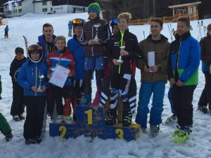Skimeisterschaft Ehrung 1