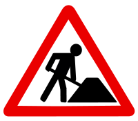 File:Baustelle.svg; commons-wikimedia.org