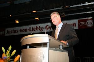 50 Jahre Justus - vertrat den Minister: Ministerialdirigent Gremm