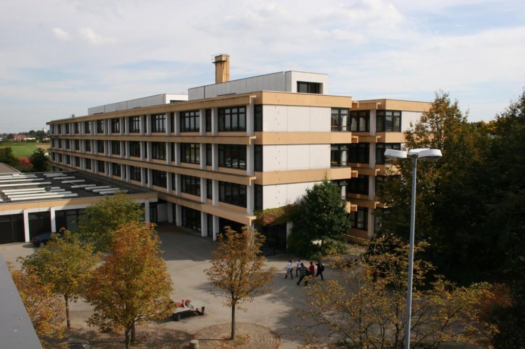 Das Schulgebäude heute