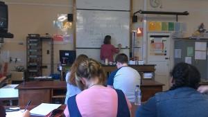Biologie-Unterricht an der Devenport Highschool for Girls Pymouth