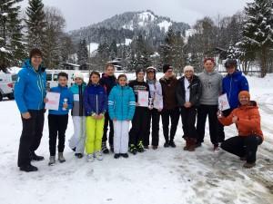 Das Justus-Ski-Team - I wui skifoan.